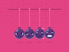 Angry Balls designed by Vladimir Marchukov. Connect with them on Dribbble; Show And Tell, Motion Design, Graphic Design Inspiration, Motion Graphics, Animation, Make It Yourself, Instagram Posts, Balls, Gif Art