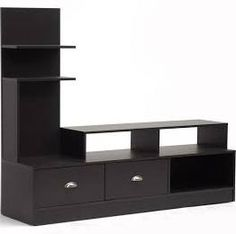 Wholesale Interiors FTV-906 Armstrong Dark Brown Modern TV Stand