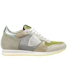 differently cf3a6 474b4 Philippe Model Sneakers (135 CAD) ❤ liked on Polyvore featuring shoes,  sneakers, beige, philippe model, beige sneakers and beige shoes