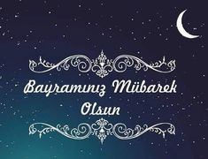 Hayat yaşamayı, vefa hatırlamayı, dostluk paylaşmayı, özel günler ise hatırlamayı bilenler için vardır. Ramazan Bayramınız mübarek olsun.