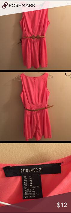Forever 21 romper with bowtie belt Great shape, no stains, dress Forever 21 Dresses