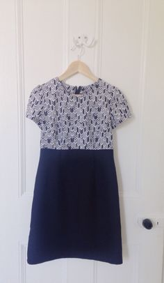 tilly and the buttons megan dress - lovely Alison glass bought from m is for make + cotton twill