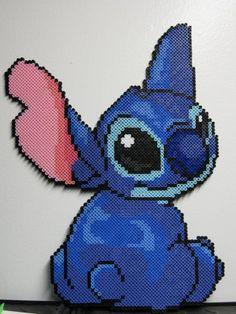 Stitch in Perler beads!