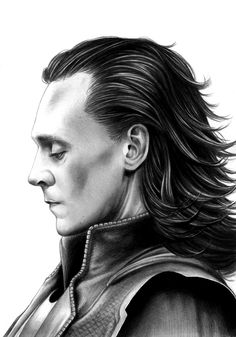 Loki. Man I wish I could draw even close to this well.