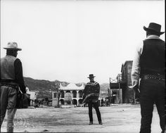 Clint Eastwood in A Fistful of Dollars (1964)