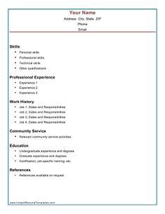 academic achievement resume