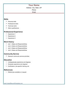 a combination resume lists skills and professional accomplishments first followed by a chronological work history