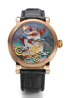 Men's Fashion and Style Aficionado: Grieb & Benzinger presents limited watch collection in celebration of the Year of the Dragon 2012