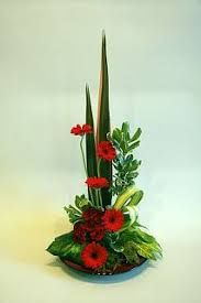 Image result for contemporary christmas flower arrangements