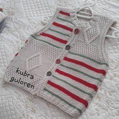 kubra guloren Baby Boy Knitting Patterns, Baby Cardigan Knitting Pattern, Knitted Baby Cardigan, Knitting For Kids, Knitting Designs, Crochet Hats For Boys, Crochet Baby Hats, Baby Girl Sweaters, Diy Crafts