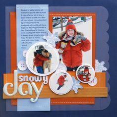Snowy Day - Scrapbook.com
