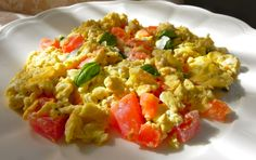 Italian Scrambled Eggs and Rosemary potatoes – Simply Delicious Living with Maryann®
