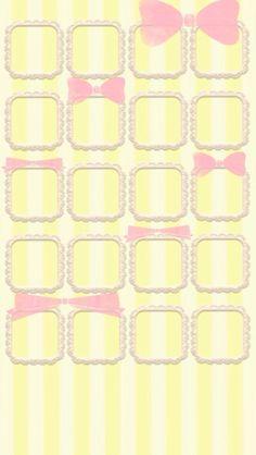 Yellow N Pink iPhone 5 Wallpaper