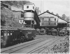 Mayberrry, West Virginia, Norfolk Angle Mine, 1939.