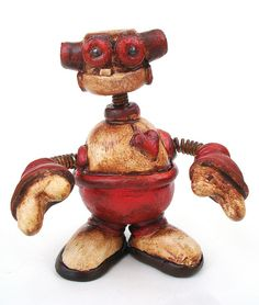 Polymer clay robot :)