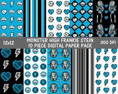 55 best monster high images digital papers printable scrapbook