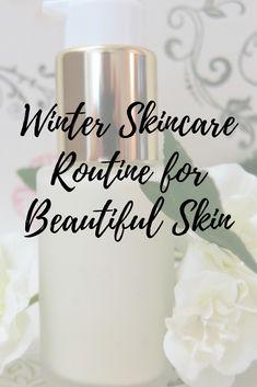 Winter Skincare Routine To Keep Your Skin Beautiful This Holiday Season! #skincare #winterskincare