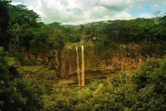 MauritiusWaterfallL - Waterfall Mauritius