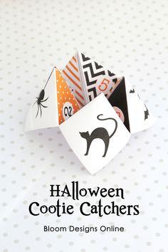 Halloween Cootie Cat
