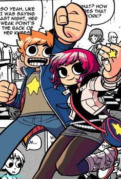 The amazig world of the graphic ovel: Scott pilgrim.