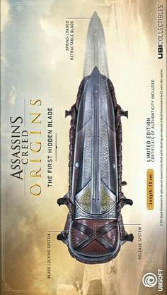Assassin's Creed origins hidden blade.