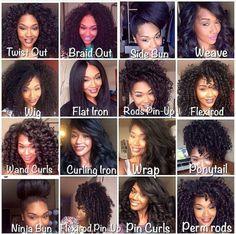 Black Hair Ideas