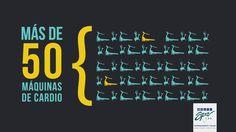 El nuevo Multispa Tibás tiene màs de 50 máquinas de Cardio. Conocelo: http://grupomultispa.com/tibas