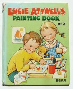 LUCIE ATTWELL Painting Book No 2 Dean, 1963 | eBay