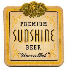 Premium Sunshine Beer