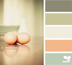 Another gorgeous country kitchen palette - Design Seeds - morning tones Colour Pallette, Color Palate, Colour Schemes, Color Combos, Palette Pastel, Decoration Palette, Design Seeds, Colour Board, World Of Color