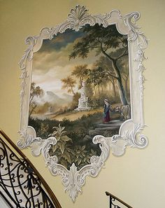 Grand Staircase mural.