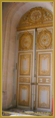 Door at Versailles Palace