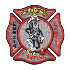 """NYFIRE Engine 214 / Ladder 111 """"The Nuthouse"""" Patch"""