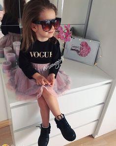 FashionistaTo place order DM us or whatsapp on 6394837380 Girls Fall Fashion, Cute Kids Fashion, Little Girl Fashion, Toddler Fashion, Look Fashion, Outfits Niños, Kids Outfits, Fashion Outfits, Toddler Girl Style