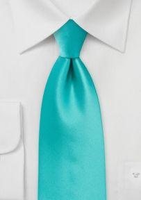 Krawatte in türkis