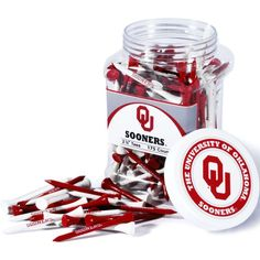 "Team Golf Oklahoma Sooners 2.75"" Golf Tees - 175-Pack"