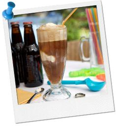Slumber Party - Root Beer Floats #birthday #slumber #party