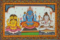 lord-Brahma-Vishnu-Mahesh-paint-images.jpg (2000×1336)