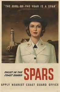 Coast Guard women! WAVES, WACs, WASPs & SPARs - They served not only in the Army (WAC), but also with the Navy (WAVES) and Coast Guard (SPARs). Although never officially members of the armed forces, Women Air Force Service Pilots (WASPs) provided critical support for the war effort.