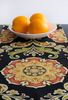 Thanksgiving Table Runner  Thanksgiving Table by TheFabricAffair, $49.00 Just in time for Thanksgiving!