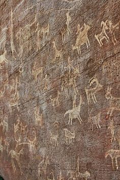 Cave paintings found in Persia