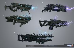 halo weapon concept art - Google Search