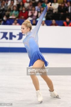 SAITAMA, JAPAN - MARCH 29: Gracie Gold of the USA competes in the Ladies Free Skating during ISU World Figure Skating Championships at Saitama Super Arena on March 29, 2014 in Saitama, Japan. (Photo by Atsushi Tomura/Getty Images)