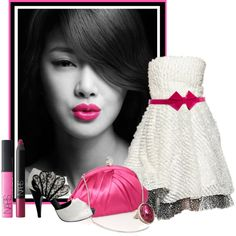 """""""Hot Pink"""" by tracireuer on Polyvore"""