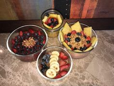 Peurtrition Boost Bowls how you can make them