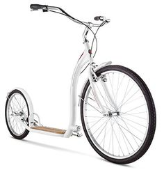 Schwinn Adult Shuffle Scooter With 26 Wheels White 16 Small BICI Bicycle Scooter Wheels, Scooter Bike, Kids Scooter, Best Scooter, Scooters For Sale, Bike Accessories, Electric Scooter, Custom Bikes, Ebay
