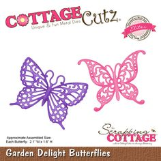 CottageCutz Garden Delight Butterflies (Elites)