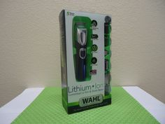 Wahl Lithium Ion Trimmer 17 pieces FREE SHIPPING #Wahl