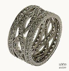 WB-238 #InfinityLine #vintagestyle #weddingring #stackable