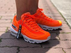 separation shoes 4ace4 7141e Nike Air Max 95 SE | 'Just Do It' Total Orange | Mens Trainers [AV6246-800]  #Nike #Lifestyle
